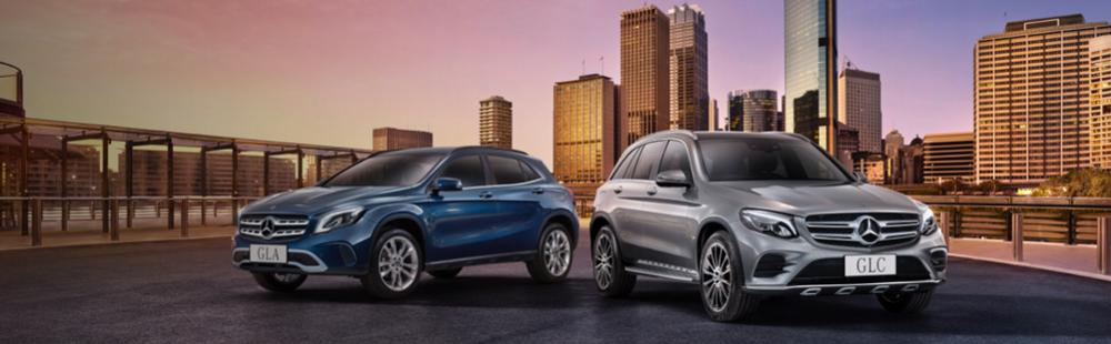 Mecedes GLA and GLE